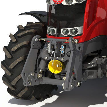 Integrated front linkage
