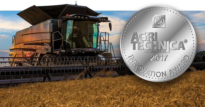 LA NUEVA IDEAL DE MASSEY FERGUSON OBTIENE MEDALLA DE PLATA EN LOS DLG INNOVATION AWARDS.
